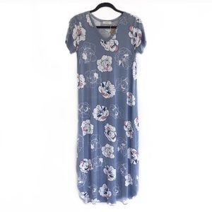 Hopely • Floral Print V-Neck Dress